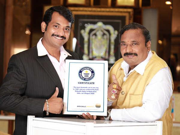 Kotti Srikanth curated a new ring, titled 'The Divine — 7801 Brahma Vajra Kamalam',