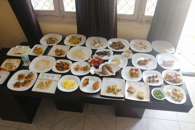 The dishes Saanvi cooked to enter the record