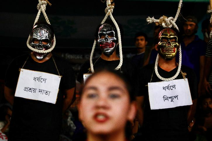 Crimes Against Women Protest