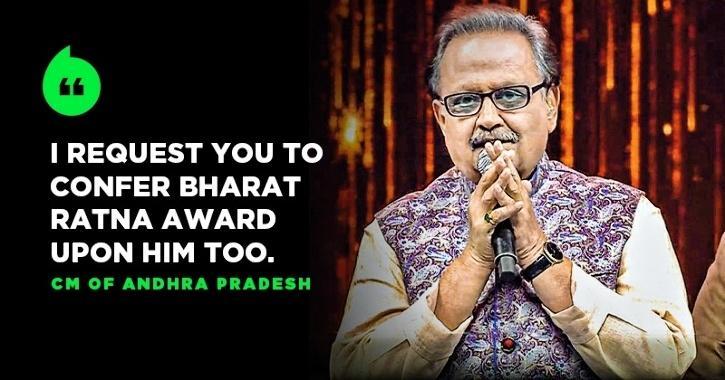 AP CM Writes To PM Modi Seeking Bharat Ratna For SP Balasubrahmanyam, Fans Sign Online Petition