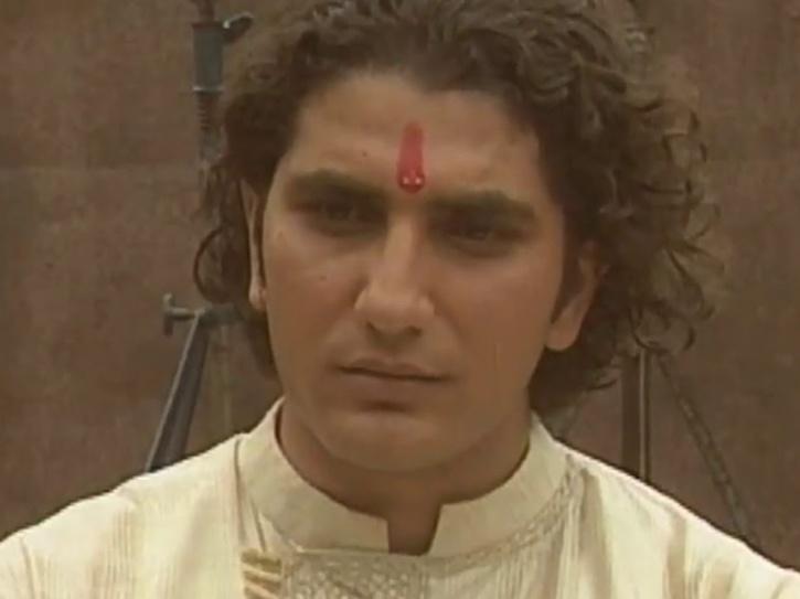 A still of actor Faraaz Khan.