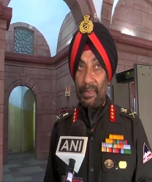 General Lieutenant General Harpal Singh