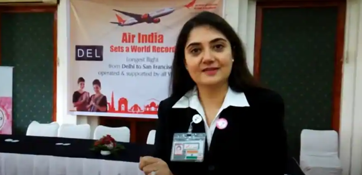 In a first, an Indian airline has appointed a woman at the top position of CEO.