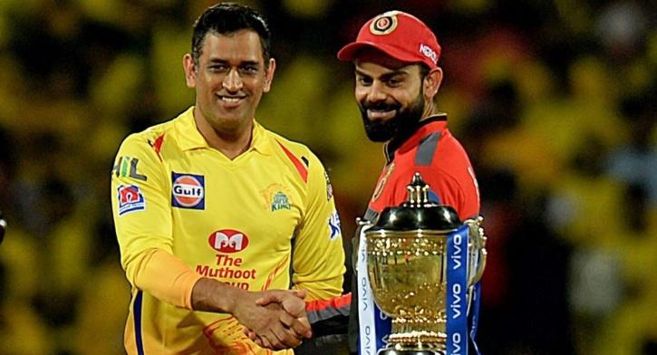 MS Dhoni and Virat Kohli in IPL / Twitter