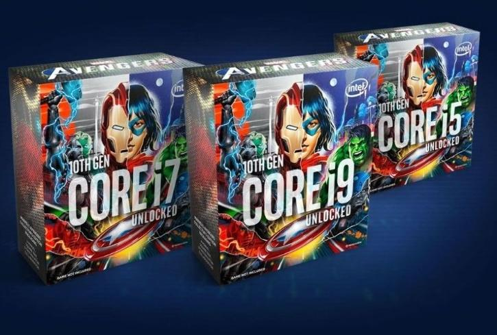 Marvel's Avengers Collectables CPU Box i7-10700K