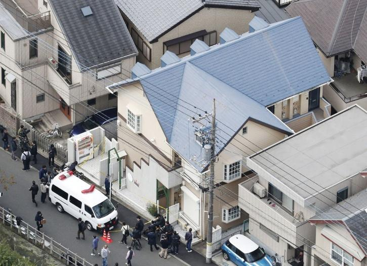 The residence of Takahiro Shiraishi in the city of Zama