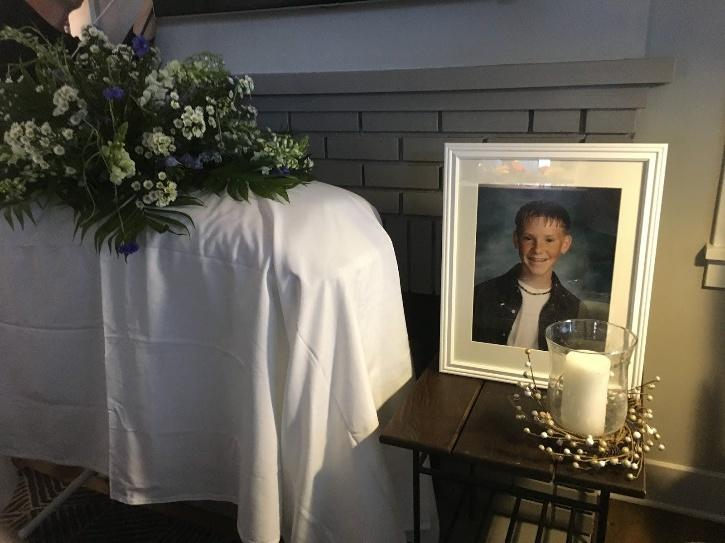 There was also a reading of an obituary written by his colleague,
