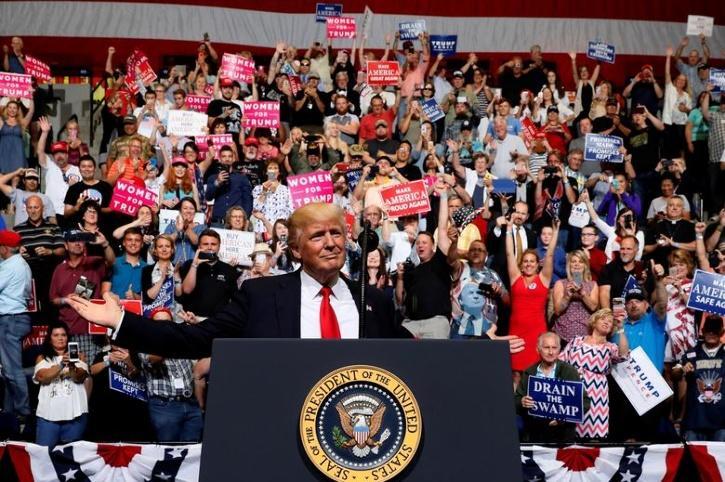 Trump rally in Iowa