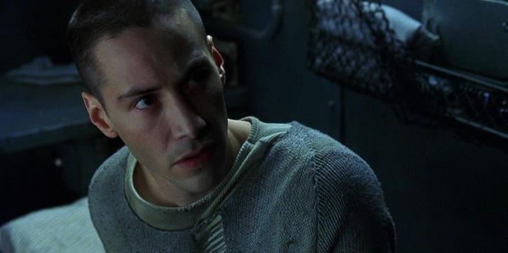 Keanu Reeves as Neo in Matrix
