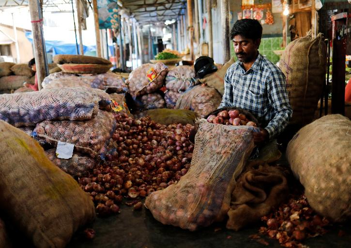 Onion prices have shot up sharply to over Rs 75 per kg in the past few weeks