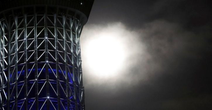 rare blue moon on halloween night in 2020