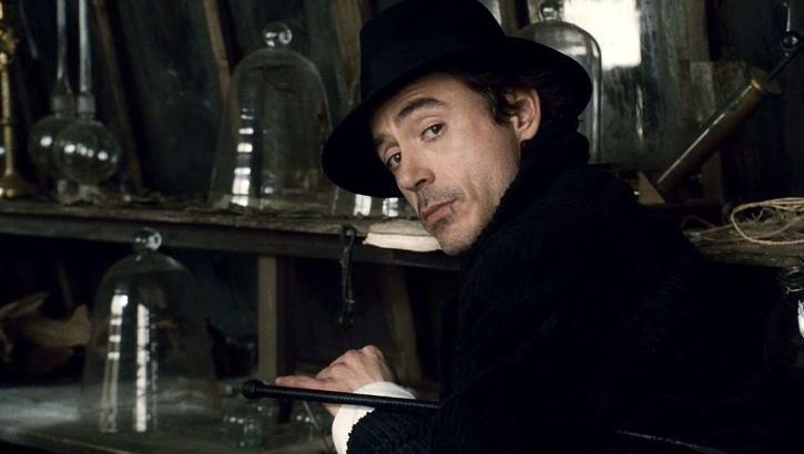 Robert Downey Jr as Sherlock Homes