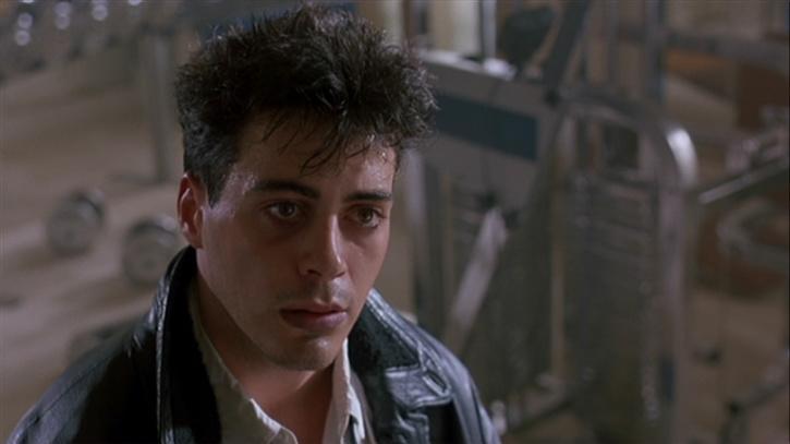Robert Downey Jr in Less Than Zero