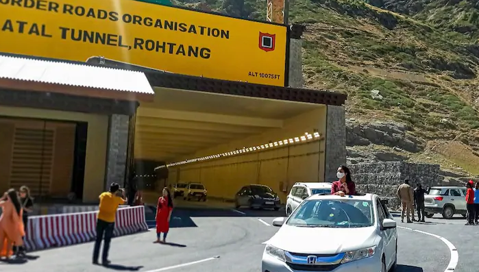 Atal Rohtang Tunnel, The Longest High-Altitude Road Tunnel In The World