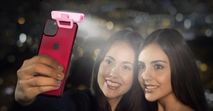 Portronics Cliky Selfie LED Light