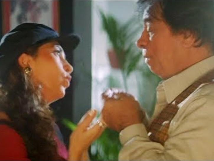 In one of the best films of Kader Khan, Sharma saab in Judwaa