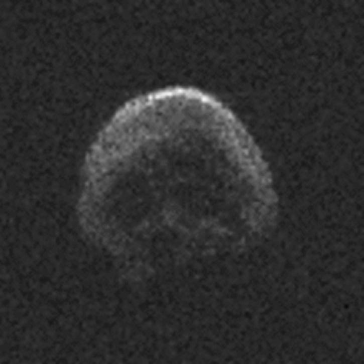 Skull shaped Asteroid