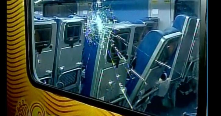 Someone Damaged Indian Railway's New Tejas Express