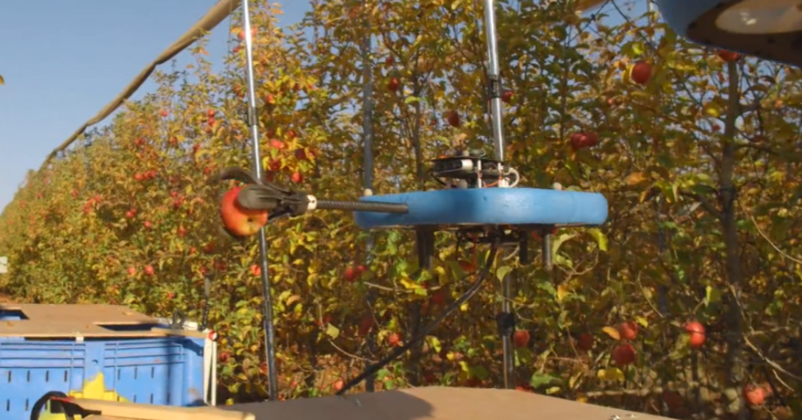 fruit picking agricultural drone