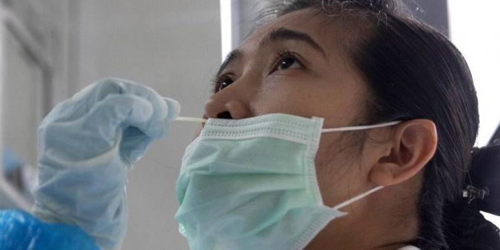 nasal swab test