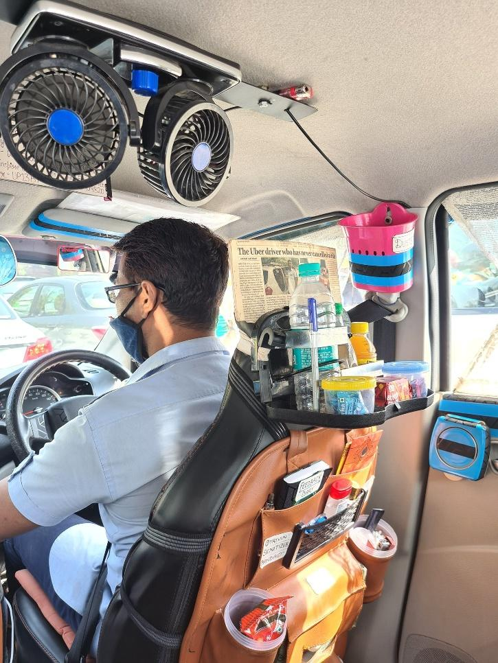 Uber cab driver message religious harmony