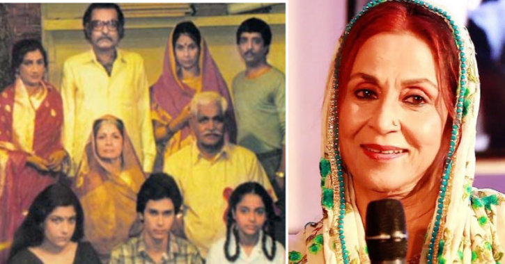 Jayoshree Arora as Bhagwanti in Hum Log.