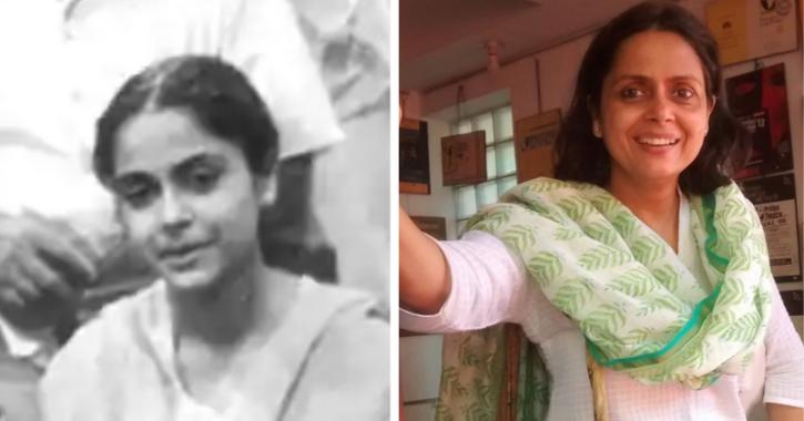 Cast of Hum Log: Loveleen Mishra as Chhutki