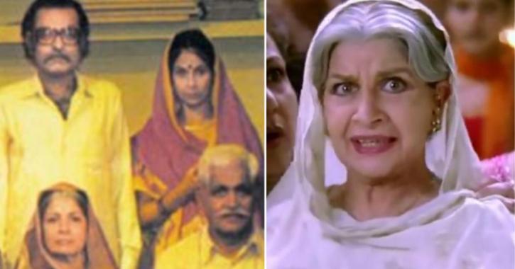 Cast of Hum Log: Sushma Seth as Hum Log