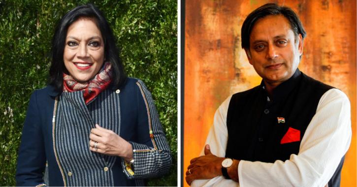 Mira Nair and Shashi Tharoor.