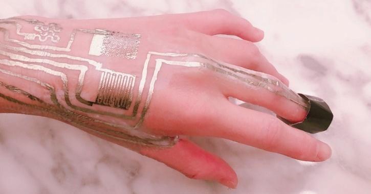 wearable sensors embedded inside human skin