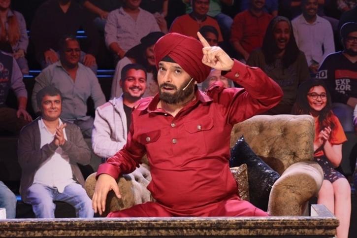 Kapil Sharma as Navjot Singh Sidhu / Twitter