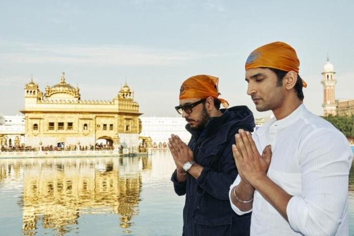 Actor Sushant Singh Rajput with producer Dinesh Vijan / Agencies