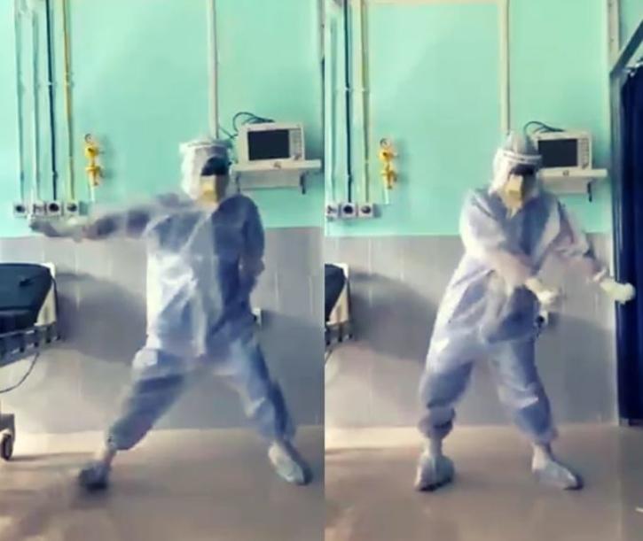 Dr Arup Senapati dancing video / Twitter