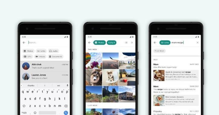 WhatsApp Advanced Search