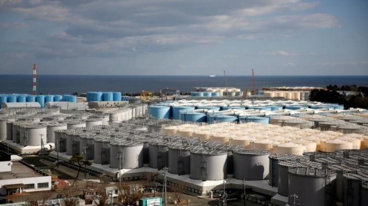 Storage tanks for contaminated water