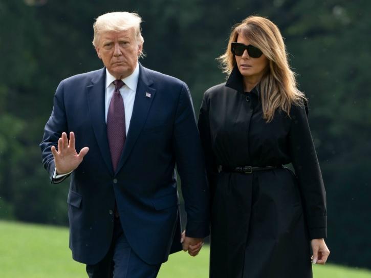 Donald Trump, Melania Trump, COVID-19, Trump COVID-19