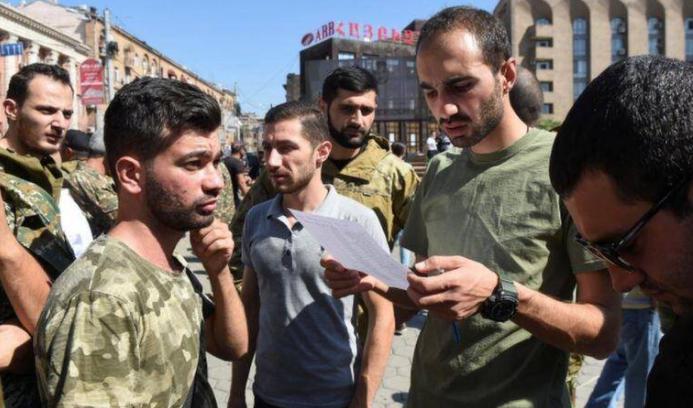 Armenian youth get ready for military enrolment