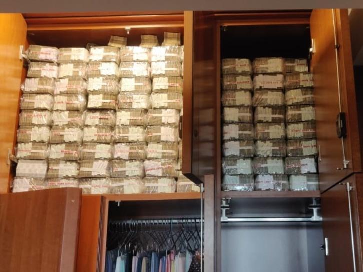 cash seized by IT dept