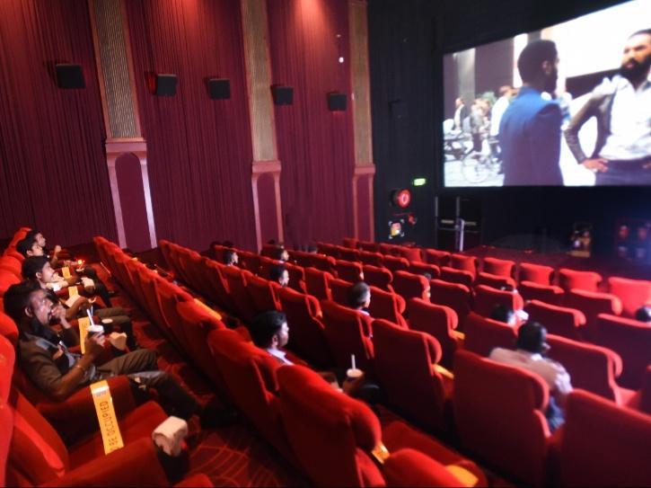 Cinema halls post lockdown.