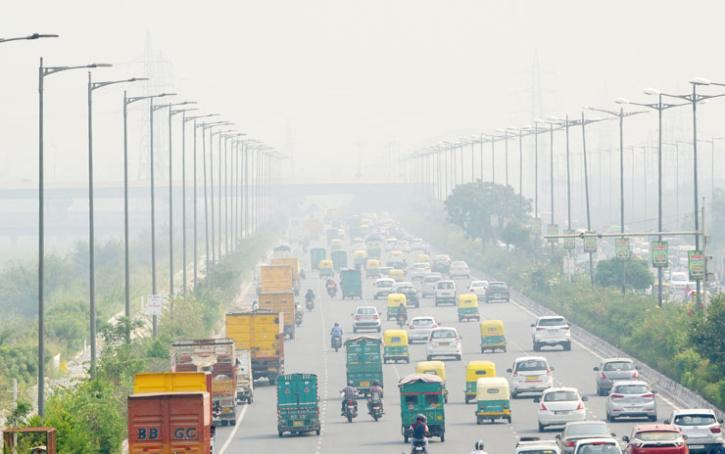 Delhi Air Pollution Before After 8