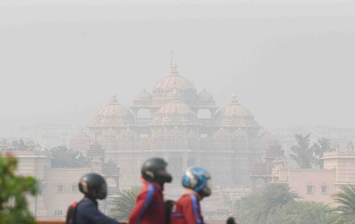 Delhi Air Pollution Before After 9