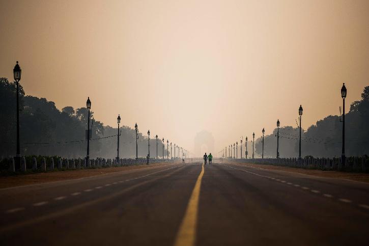 delhi-before after