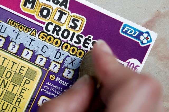 French Lottery scratchcard