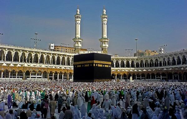 Kaaba Sharif in Mecca.