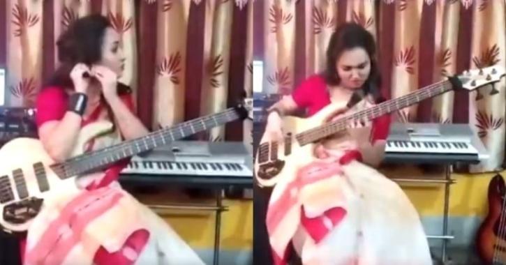 Nilanjana Ghosh Dastidar playing Sea of Lies