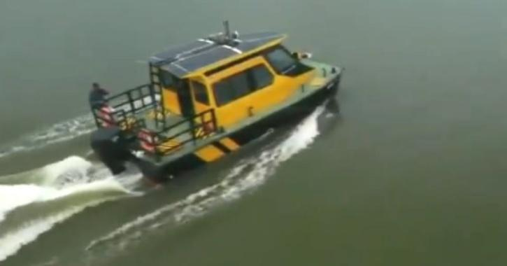 First water taxi launched in Kerala
