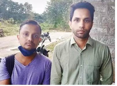 Shashank Das (left), Jitendra Kumar (right)