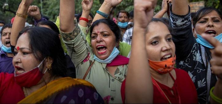 hathras-rape-protest