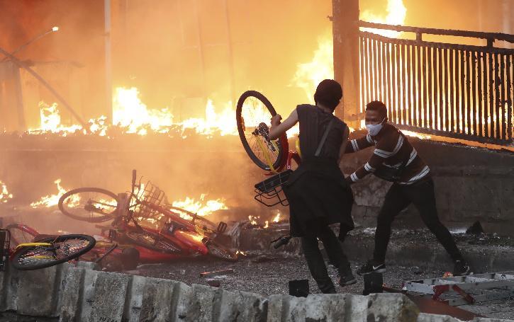 Indonesia burning