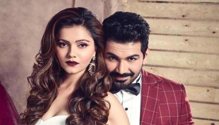 Rubina Dilaik with husband Abhinav Shukla / Instagram